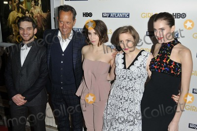 Lena Dunham Photo - London UK Evan Jonigkeit Richard E Grant Zosia Mamet Lena Dunham  Allison Williams at  the Girls UK TV premiere Cineworld Haymarket Haymarket on Wednesday January 15 2014 in London England UKRef LMK315-46394-160114Can NguyenLandmark Media WWWLMKMEDIACOM