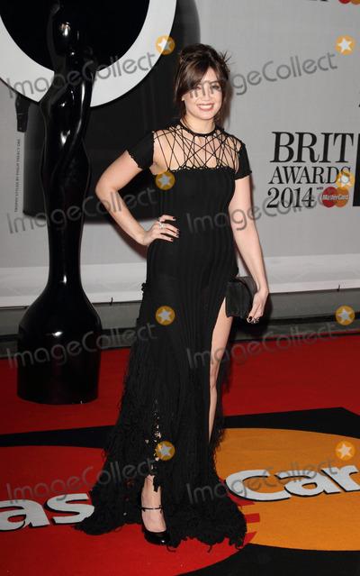 Daisy Lowe Photo - London UK Daisy Lowe   at the The BRIT Awards with MasterCard 2014 Red Carpet arrivals at the 02 Arena London 19th February 2014  RefLMK73-47701-200214Keith MayhewLandmark MediaWWWLMKMEDIACOM