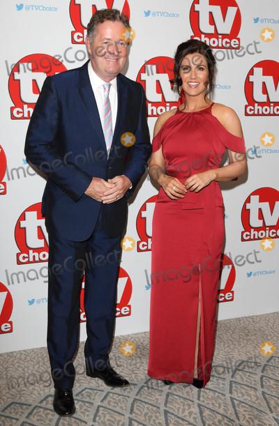 Susanna Reid Photo - London UK Piers Morgan and Susanna Reid at The TV Choice Awards 2016 at the Dorchester Hotel Park Lane London on September 5th 2016Ref LMK73-61042-060916Keith MayhewLandmark MediaWWWLMKMEDIACOM