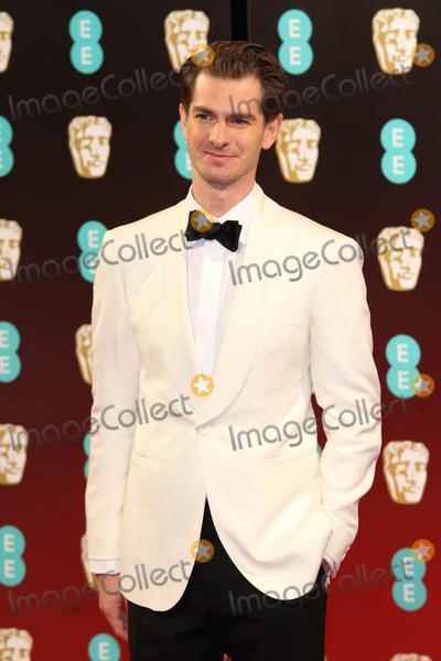 Andrew Garfield Photo - London UK Andrew Garfield at the EE British Acadamy Film Awards (BAFTAs) at The Royal Albert Hall on Sunday 12 February 2017Ref  LMK73 -61672-130217Keith MayhewLandmark Media WWWLMKMEDIACOM