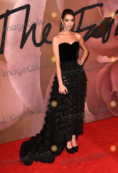 Ana Beatriz Barros Photo - London UKAna Beatriz Barros at The Fashion Awards held at The Royal Albert Hall South Kensington London on Monday 5 December 2016Ref LMK392-61340-061216Vivienne VincentLandmark Media WWWLMKMEDIACOM