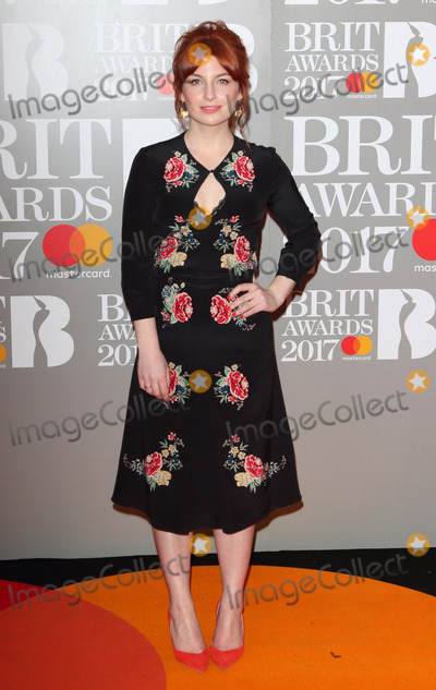 Alice Levine Photo - London UK Alice Levine at The BRIT Awards 2017 at The O2 Peninsula Square London on February 22nd 2017Ref LMK73-63022-230217Keith MayhewLandmark MediaWWWLMKMEDIACOM