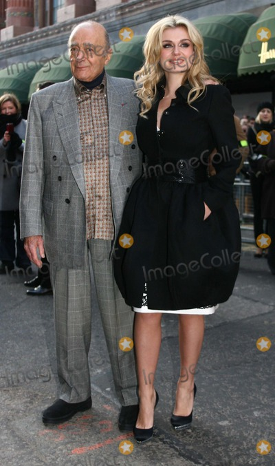Katherine Jenkins Photo - LondonUK  Classical Welsh born singer Katherine Jenkins with Mohamed Al-Fayed as she  launches the Harrods Winter Sale   27th December 2008Lisle BrittainLandmark Media
