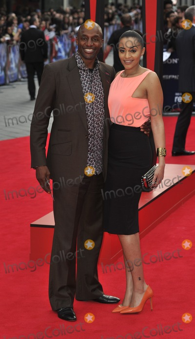 John Fashanu Photo - London UK John Fashanu and Amal Fashanu at  the World Premiere of The Amazing  Spider-Man 2 at The Odeon Cinema Leicester Square London England UK on 10th April 2014Ref LMK386-48131-110414Gary MitchellLandmark MediaWWWLMKMEDIACOM