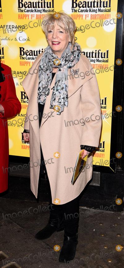 Alison Steadman Photo - London UK  Alison Steadman  at  Beautiful - The Carole King Musical first birthday celebration at The Aldwych Theatre The Aldwych London  23 February 2016 Ref LMK392-60242-240216Vivienne VincentLandmark Media WWWLMKMEDIACOM