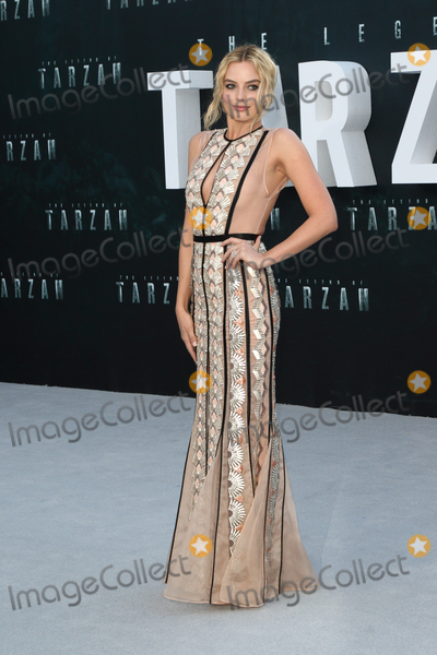 Margot Robbie Photo - LondonUK  Margot Robbie   at the  UK Premiere of The Legend of Tarzan at the Odeon Leicester Square London 5th July 2016 Ref LMK73-60812-060716Keith MayhewLandmark Media WWWLMKMEDIACOM