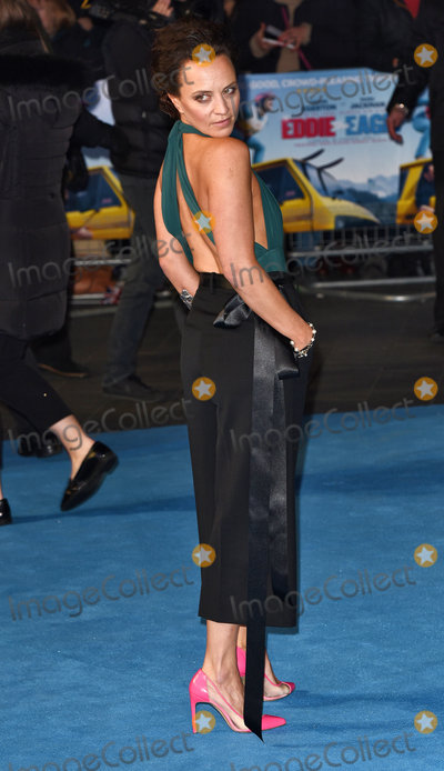 Ania Sowinski Photo - London UK Ania Sowinski  at Eddie The Eagle - European film premiere at the Odeon Leicester Square London on March 17th 2016  Ref LMK392 -60098-180316Vivienne VincentLandmark Media WWWLMKMEDIACOM
