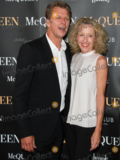 Andrew Castle Photo - London UK Andrew Castle  Sophia Castle at McQueen at the  Press Night Theatre Royal Haymarket 27th August 2015 Ref LMK394-58176-290815Brett CoveLandmark Media  WWWLMKMEDIACOM