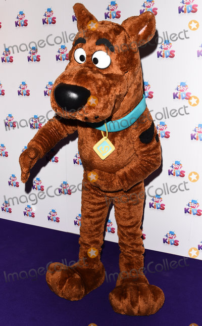 Scooby Doo Photo - London UK Sky Kids character - Scooby Doo   at The Sky Kids Cafe Launch Party held at The Vinyl Factory Marshall Street London on Sunday 29 May 2016 Ref LMK392-60616-300516Vivienne VincentLandmark Media WWWLMKMEDIACOM