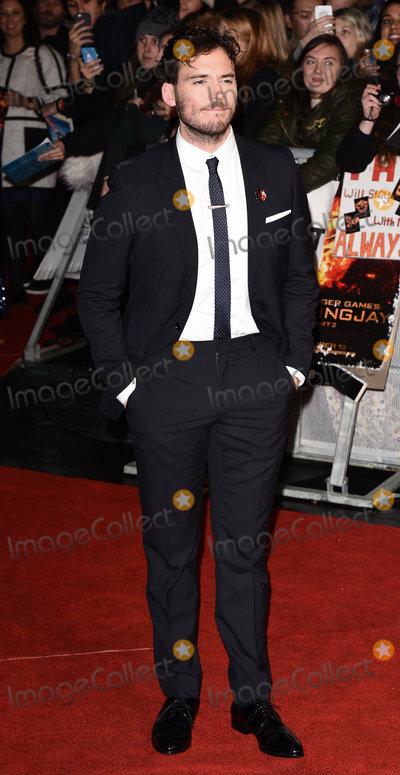 Sam Claflin Photo - LondonUK Sam Claflin  at the The Hunger Games - Mockingjay Part 2 UK Premiere of The Hunger Games - Mockingjay Part 2 at the Odeon Leicester Square 5th November 2015Ref LMK392-58073-061115Vivienne VincentLandmark Media WWWLMKMEDIACOM