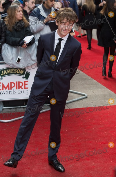 Alex Lawther Photo - London UK Alex Lawther  at the Jameson Empire Film Awards at the Grosvenor House Hotel in London on 29 March 2015Ref LMK12-50849-300315J AdamsLandmark MediaWWWLMKMEDIACOM