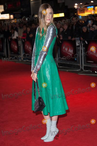 Agyness Deyn Photo - London UK   Agyness Deyn  at  the London Film Festival Premiere of  Sunset Song  at The Vue West End Cinema BFI London Film Festival  15th October  2015Ref LMK370-58539-161015Justin NgLandmark Media WWWLMKMEDIACOM