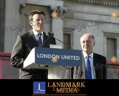 Ken Livingstone Photo - London The Mayor of London Ken Livingstone and Lord Seb Co speaking at Trafalgar Square exactly one week after the terrorist bomb attacks on LondonProminent Londoners different communities and Londons representatives of the citys transport and emergency services join the mayor paying tribute to the victims to the work of the emergency services and to London through a series of readings and poems14 July 2005Ali KadinskyLandmark Media