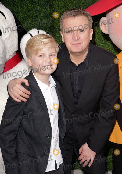 Charlie Brown Photo - London UK  Lucas Jones and Aled Jones  at The UK Gala Screening of Snoopy and Charlie Brown at  The Peanuts Movie at Vue West End Leicester Square London on Saturday 28 November 2015Ref LMK392-58951-291115Vivienne VincentLandmark Media WWWLMKMEDIACOM