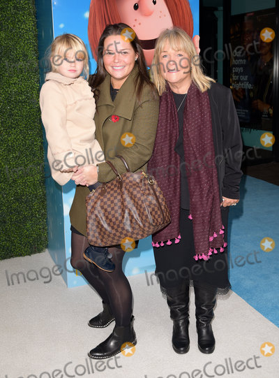 Charlie Brown Photo - London UK  Linda Robson Lauren Killingback and Lila  at The UK Gala Screening of Snoopy and Charlie Brown at  The Peanuts Movie at Vue West End Leicester Square London on Saturday 28 November 2015Ref LMK392-58951-291115Vivienne VincentLandmark Media WWWLMKMEDIACOM