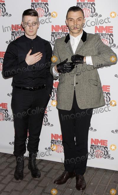Adam Anderson Photo - London UK  Adam AndersonTheo Hutchcraft of Hurtz  at the NME Awards 2012  02 Brixton AcademyLondon 29th February 2012J AdamsLandmark Media
