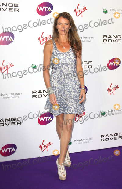 Annabelle Croft Photo - London UK Annabel Croft  at the  Pre-Wimbledon Tennis Tournament Party   Kensington Roof Gardens 16th June 2011 Keith MayhewLandmark Media