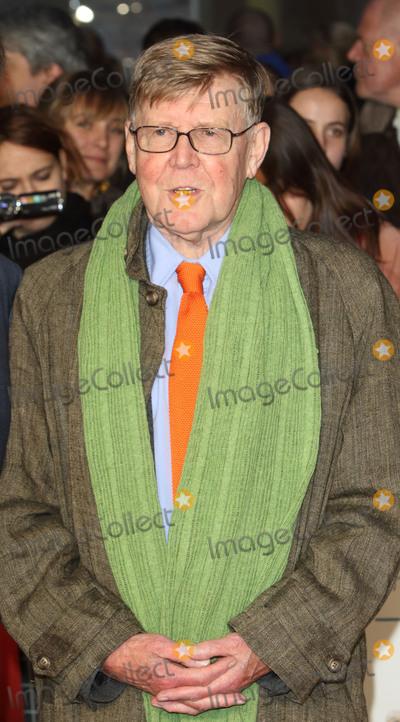 Alan Bennett Photo - London UK Alan Bennett at London Film Festival Centrepiece Gala The Lady in the Van at the Odeon Leicester Square London on October 13th 2015Ref LMK73-58359-141015Keith MayhewtLandmark Media WWWLMKMEDIACOM