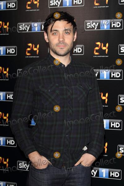 Liam Garrigan Photo - London UK Liam Garrigan at UK premiere of 24 Live Another Day at Old Billingsgate London on May 6th 2014 Ref LMK73-48388-070514Keith MayhewLandmark Media WWWLMKMEDIACOM