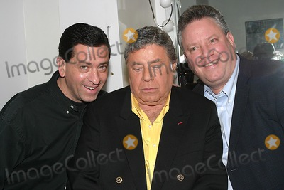 Anthony Lewis Photo - Jerry Lewis and Sons in the Green Room of the Late Show with David Letterman at the Ed Sullivan New York City 01-17-2005 Photo Barry Talesnick-ipol-Globe Photos Inc 2005 Jerry Lewis Anthony Lewis and Chris Lewis