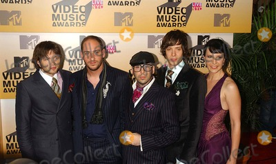 Andy Ross Photo - Mtvs Video Music Awards-arrivals Held at Radio City Music Hall New York City 08-31-2006 Photo Ken Babolcsay-ipol-Globe Photos Inc 2006 Damian Kulash Dan Konopka Tim Nordwind and Andy Ross