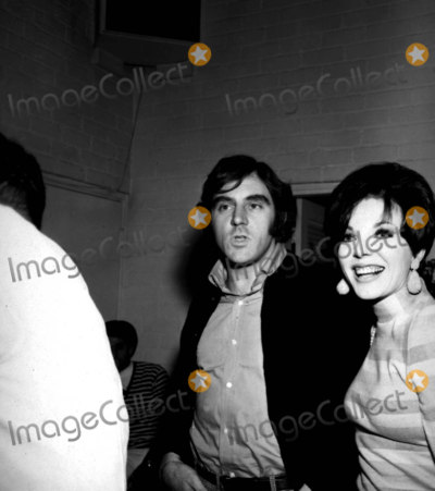 Anthony Newley Photo - Joan Collins and Anthony Newley A893-4a Nate CutlerGlobe Photos Inc