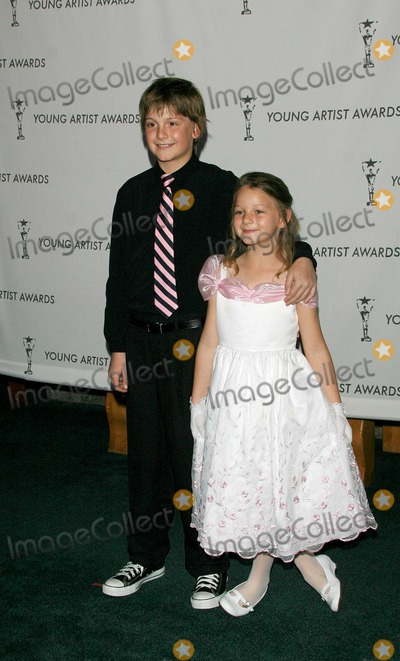 Austin Majors Photo - Austin Majors and Kali Majors - 28th Young Artist Awards - Studio City California - 03-09-2007 - Photo by Nina PrommerGlobe Photos Inc 2007
