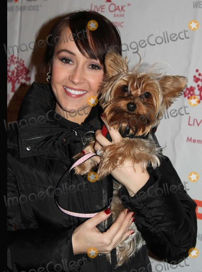 Ashley Hebert Photo - The Third Annual Aspca Blessing of the Animals Christ Church NYC December 11 2011 Photos by Sonia Moskowitz Globe Photos Inc 2011 Ashley Hebert (Bachelorette)