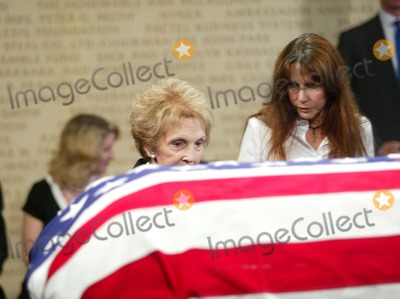 President Ronald Reagan Photo - Nancy Reagan with Patti Davis - Ceremony and Repose at Ronald Reagan Presidential Library in Simi Valley For Former President Ronald Reagan - 06072004 - Photo by PoolGlobe Photos Inc2004