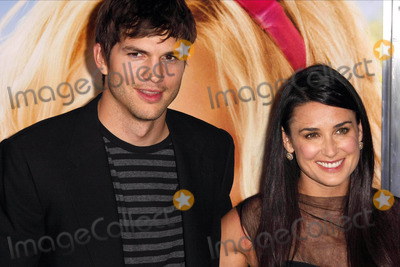 Demi Moore Photo - Ashton Kutcher  Demi Moore Actors the Los Angeles Premiere of the House Bunnys Held at Mann Village Theaterwestwood California 08-20-2008 Photo by Graham Whitby Boot-allstar-Globe Photos Inc2008 K59166