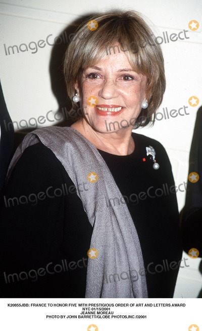 Jeanne Moreau Photo -  France to Honor Five with Prestigious Order of Art and Letters Award NYC 01152001 Jeanne Moreau Photo by John BarrettGlobe Photosinc
