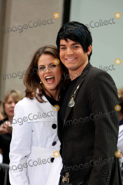 Natalie Morales Photo - Natalie Morales and Adam Lambert of American Idol on Nbcs Today Show Toyota Concert Series at Rockefeller Plaza in New York City on 05-28-2009 Photo by John Barrett-Globe Photos Inc 2009