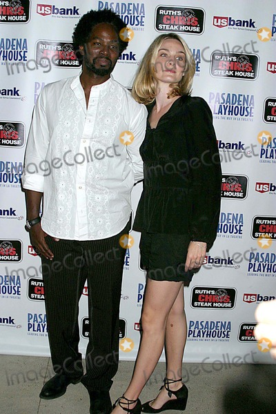 August Wilson Photo - Pasadena Playhouse Presents the Opening of August Wilsons Fences the Pasadena Playhouse Pasadena CA 09-01-2006 Harold Perrineau and Wife Brittany Perrineau Photo Clinton H Wallace-photomundo-Globe Photos Inc