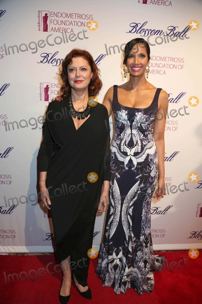 Susan Sarandon Photo - The Fifth Annual Blossom Ball to Benefit the Endometriosis Foundation of America Capitale NYC March 11 2013 Photos by Sonia Moskowitz Globe Photos Inc 2013 Susan Sarandon Padma Lakshmi