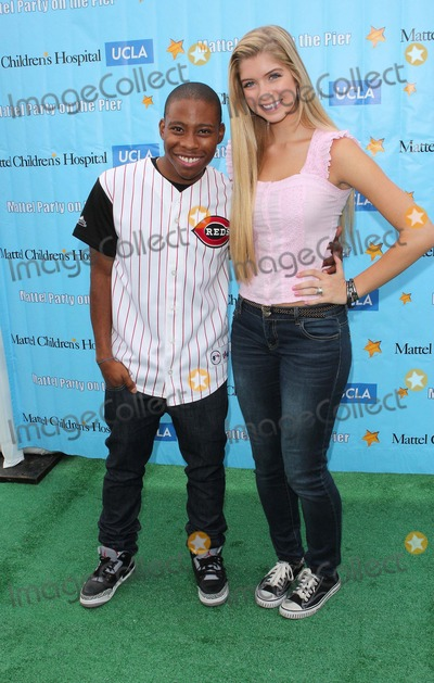 Allie Deberry Photo - Allie Deberry Carlon Jeffery Attend Mattel Party on the Pier Benefiting Mattel Childrens Hospital Ucla on 21st October 2012pacific Park Santa Monicacausa Photo TleopoldGlobephotos