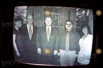 Monica Lewinsky Photo - Bill Clinton with Monica Lewinsky in White House 90s Supplied by IpolGlobe Photos Inc