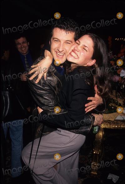 Anthony Clark Photo - Hedy Burress with Anthony Clark NBC Press Tour Party 1997 Photo by Lisa Rose-Globe Photos Inc