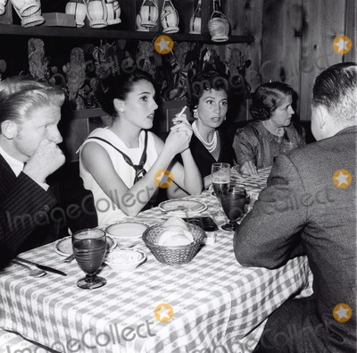 Jimmy Boyd Photo - Nancy Sinatra with Jimmy Boyd  Mrs Phil Crosby at the Villa Capri 1959 Supplied by Globe Photos Inc