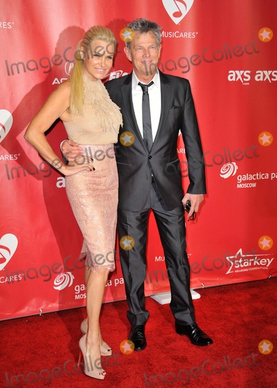 Yolanda Hadid Photo - Yolanda Hadid David Foster attending the 55th Annual Grammy Awards Musicares Person of the Year Held at the Los Angeles Convention Center in Los Angeles California on February 08 2013 Photo by D Long- Globe Photos Inc