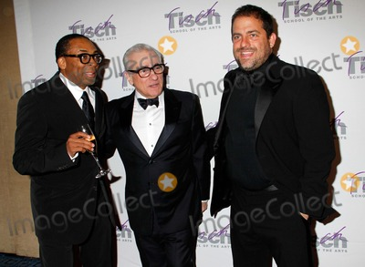 Martin Scorsese Photo - Spike Lee Martin Scorsese and Brett Ratner Arrive For the Tisch Gala Ordinary Miracles Celebrating Vision at Tisch at the Marriott Marquis Hotel in New York on April 19 2012 Photo by Sharon NeetlesGlobe Photos Inc