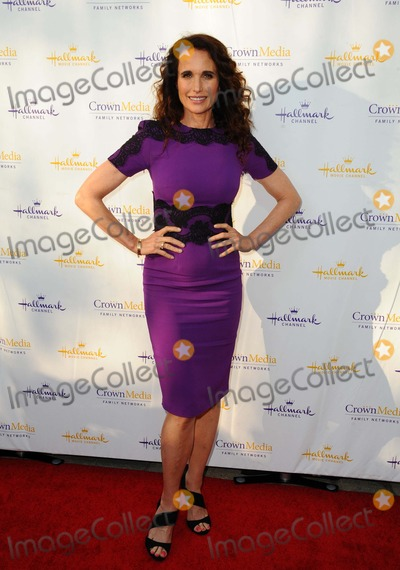 Andie McDowell Photo - Andie Mcdowell attending the Hallmark Channel and Hallmark Movies  Mysteries Summer Tca Press Tour Held at Northpole Manor in Beverly Hills California on July 8 2014 Photo by D Long- Globe Photos Inc