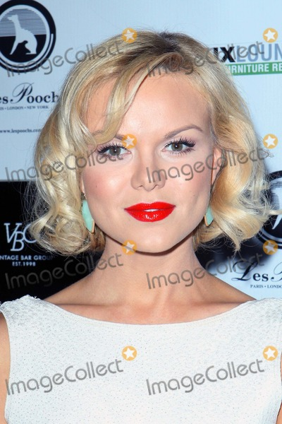 Anya Monzikova Photo - Anya Monzikova Arrives at No Kill LA Charity Event on April 2 2013 at Fred Segal Housewest Hollywoodcausa Photo TleopoldGlobephotos