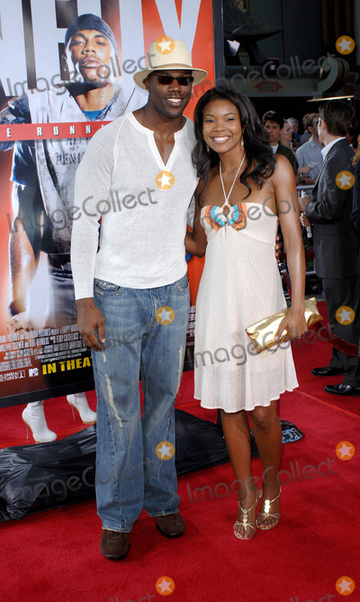 Gabrielle Union Photo - the Longest Yard Premiere at Graumans Chinese Theater Hollywood CA 05-19-2005 Photo by Fitzroy Barrett  Globe Photos Inc 2005 Terrell Owens and Gabrielle Union