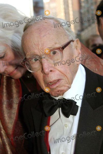 Arthur Schlesinger Photo - Gala Event to Celebrate Time Magazines New Time 100 100 of the Most Influential People Jazz at Lincoln Center New York City 04-19-2005 Photo by Barry Talesnick-ipol-Globe Photos Inc 2005 Arthur Schlesinger