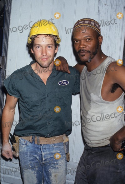 Samuel Jackson Photo - Samuel Jackson with Db Sweeney 1993 L6994lr Photo by Lisa Rose-Globe Photos Inc