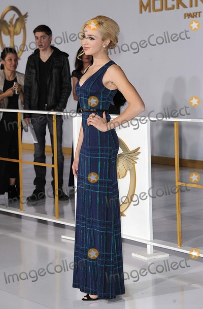 Peyton List Photo - Peyton List attending the Los Angeles Premiere of the Hunger Games Mockingjay Held at the Nokia Theatre LA Live in Los Angeles California on November 17 2014 Photo by D Long- Globe Photos Inc