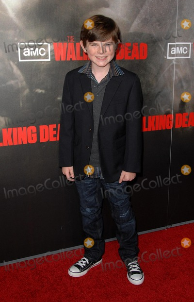 Chandler Riggs Photo - Amc Premiere Screening of the Walking Dead at Arclight Cinemas Hollywood in Hollywood CA 102610 Photo by Scott Kirkland-Globe Photos  2010 Chandler Riggs