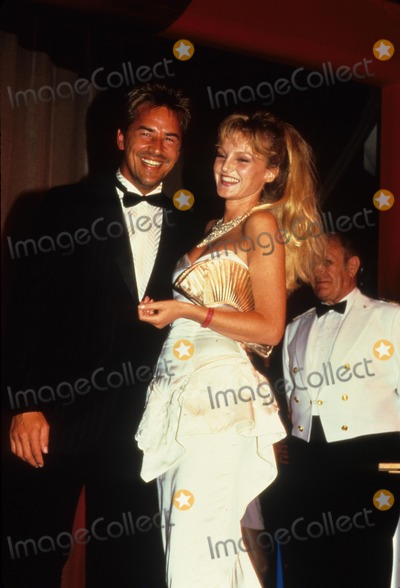 Arielle Dombasle Photo - Don Johnson with Arielle Dombasle F3249 Photo by Stan Gelberg-Globe Photos Inc