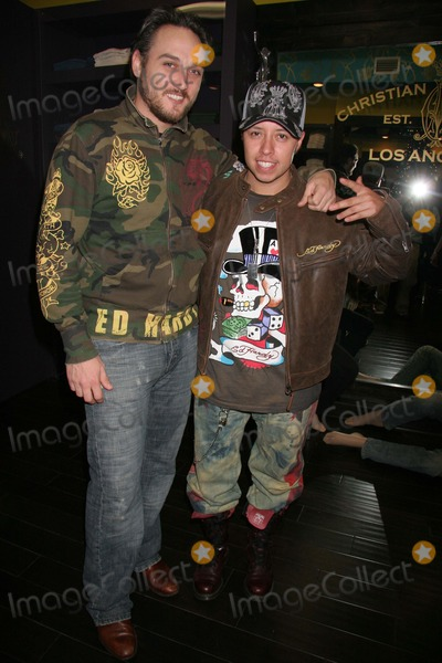 Alex Quinn Photo - Christian Audigier Holiday Party Christian Audigier Store Los Angeles CA 12-11-2006 Alex Quinn and Carlos Ramirez Photo Clinton H Wallace-photomundo-Globe Photos Inc