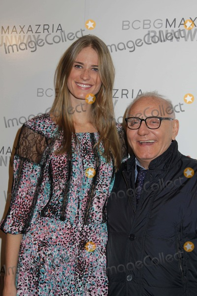 Max Azria Photo - Bcbgmaxazria Runway Fall 2013 Show Backstage and Front Row Mercedes Benz Fashion Week the Theatre at Lincoln Center NYC February 7 2013 Photos by Sonia Moskowitz Globe Photos Inc 2013 Julie Henderson in Bcbg with Max Azria